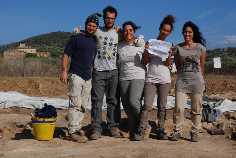 La squadra al lavoro nell'ambiente 2